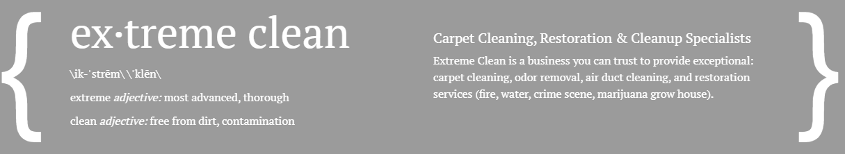 Extreme Clean definition